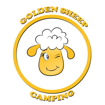 Camping Domaso Comer See Golden Sheep