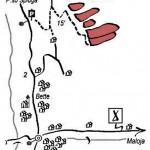 placche di bette mappa